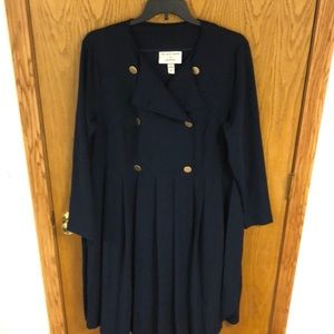 NWOT Girl with Curves navy dress!